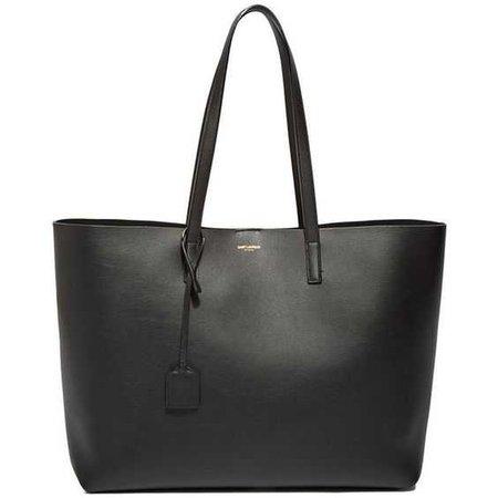 Saint Laurent Pre SS16: Saint Laurent Large Shopper Tote Bag found on Polyvore featuring bags, handbags, tote bags, purses, black, yves saint laurent, black tote, black tote bag, black shopping bags… Еще