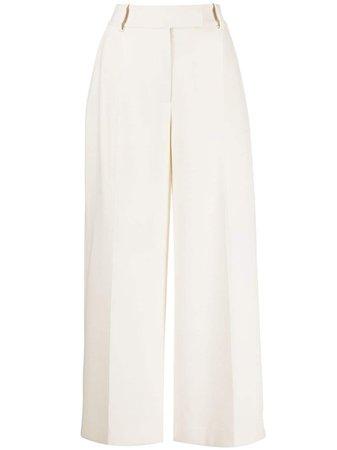 Khaite Maarte wide-leg Tailored Trousers - Farfetch
