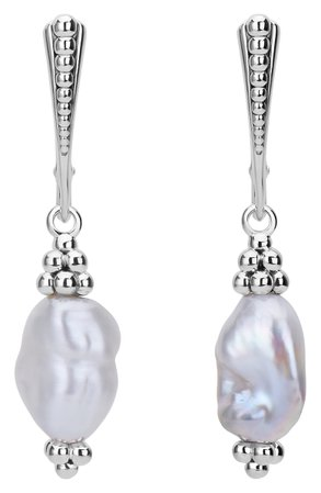 Lagos Luna Keshi Pearl Drop Earrings | Nordstrom