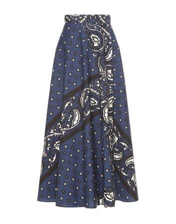 Bandana Print Skirt