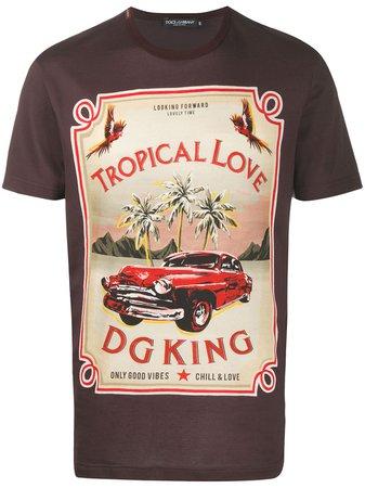 Dolce & Gabbana t-shirt Tropical Love Imprimé - Farfetch