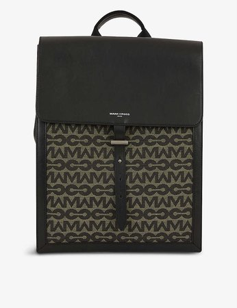 MARK CROSS - Andy recycled polyester and cotton-blend backpack | Selfridges.com