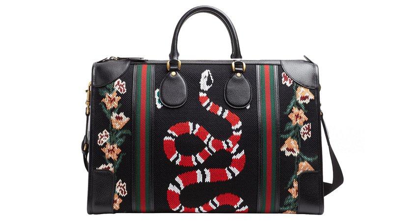 gucci snake duffle bag - Google Search