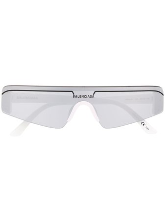 Balenciaga Eyewear Square Sunglasses - Farfetch