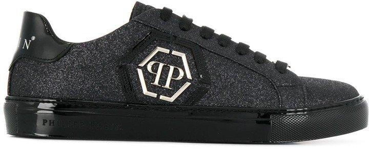 Low-Top Logo Sneakers