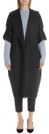 Pelago Double Breasted Cashmere Coat