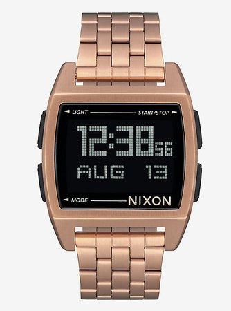 Nixon Base All Rose Gold Watch