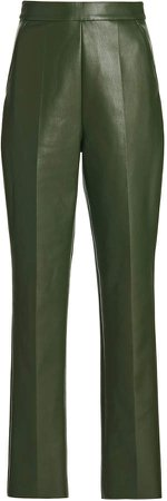 Huishan Zhang Alta Faux-Leather Skinny Pants