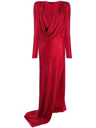Philipp Plein long-sleeve Wrap Dress - Farfetch