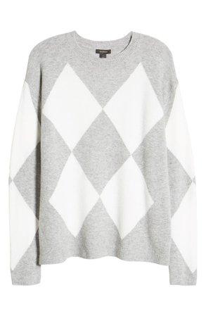 Halogen® Argyle Sweater   Nordstrom