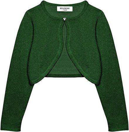 Green Toddler Cardigan