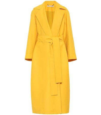 Emilia Wickstead Leia wool-gabardine coat
