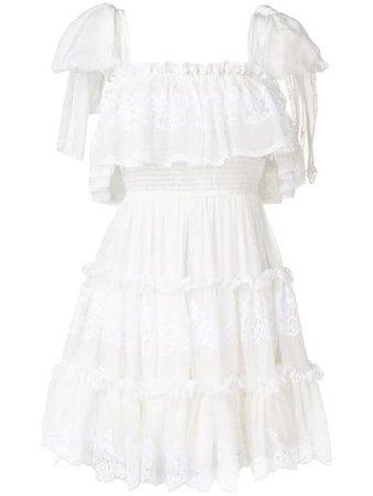 Dolce & Gabbana Ruffle Dress - Farfetch