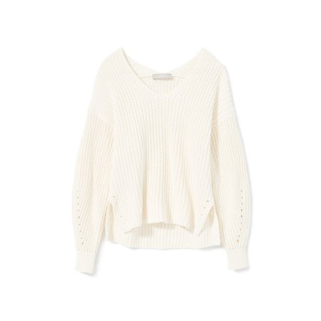 Women's Texture Cotton V-Neck | Everlane