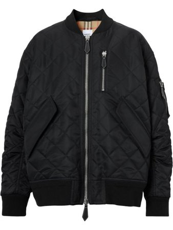 Burberry Quilted Bomber Jacket - Farfetch