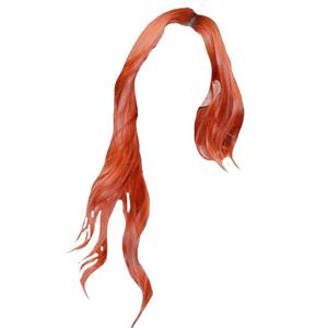 Red Orange Hair PNG