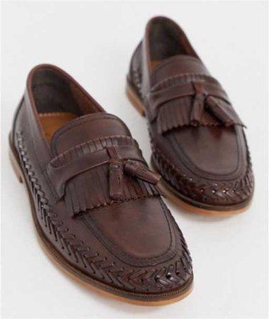 ASOS brown loafer