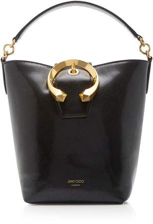 Madeline Leather Bucket Bag