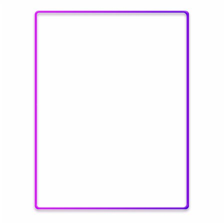 #neon #frame #ftestickers - Purple And Gold Border Free PNG Images & Clipart Download #1312943 - Sccpre.Cat