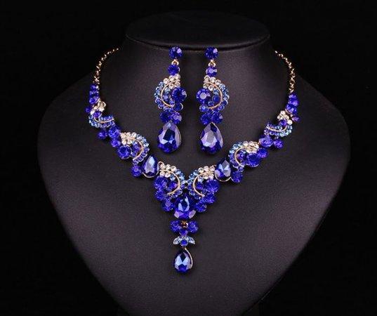 royal blue jewelry - Google Search