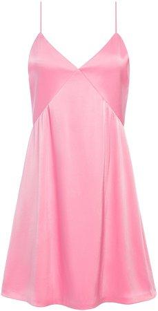 Melinda Seamed Slip Mini Dress
