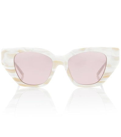 Crystal-Embellished Cat-Eye Sunglasses - Gucci | Mytheresa