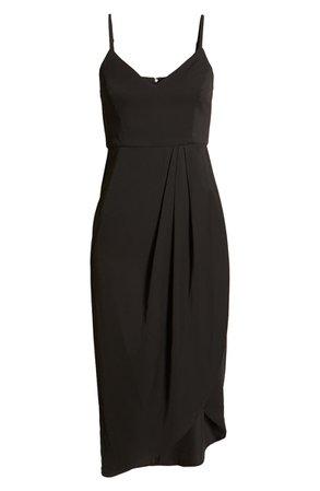 Lulus Reinette V-Neck Midi Dress | Nordstrom