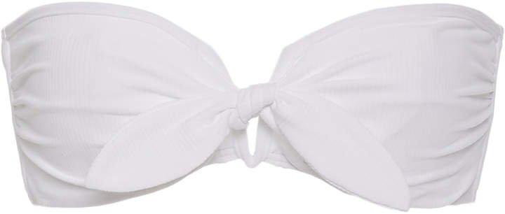 Madeline Tie-Front Bikini Top