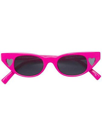 Le Specs Cat Eye Shaped Sunglasses - Farfetch