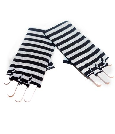 alice in wonderland striped gloves - Google Search
