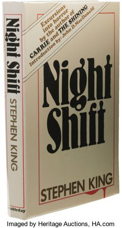 *clipped by @luci-her* Stephen King: Inscribed First Edition of Night Shift. (New York: | Lot #26258 | Heritage Auctions