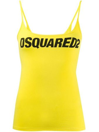 Dsquared2 Logo Print Tank Top - Farfetch