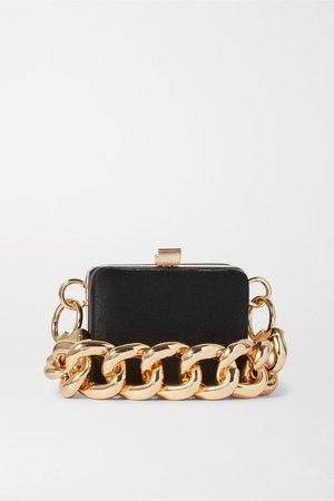 Black Ralphie mini satin shoulder bag   16ARLINGTON   NET-A-PORTER