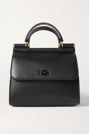Dolce & Gabbana | Sicily 58 small leather tote | NET-A-PORTER.COM