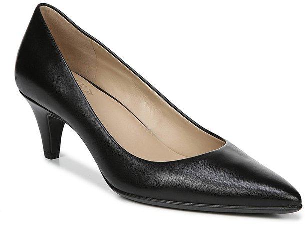 Women's Pumps BLACK - Black Beverly Leather Pump - Women