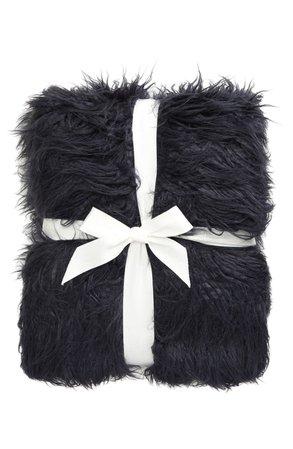 Nordstrom Mongolian Faux Fur Throw Blanket | Nordstrom