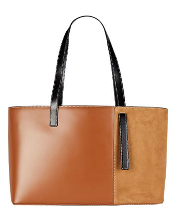 STAUD Shoko Colorblock Tote Bag   INTERMIX®