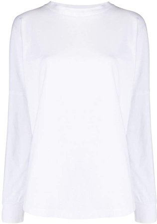 oversized cotton sweatshirt