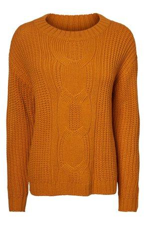 VERO MODA Knit Crewneck Sweater | Nordstrom