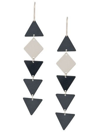 Isabel Marant geometric shape earrings - FARFETCH