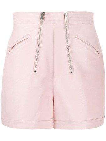 Stella McCartney High Waisted Zipped Shorts - Farfetch