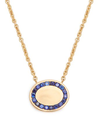 Candy sapphire & yellow-gold necklace   Jessica Biales   MATCHESFASHION.COM UK