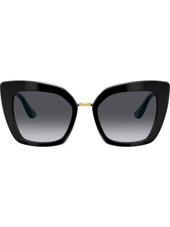 Dolce & Gabbana Eyewear Butterfly Oversized-Frame Sunglasses Ss20