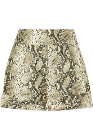 Philosophy di Lorenzo Serafini   Snake-print coated-shell shorts   NET-A-PORTER.COM