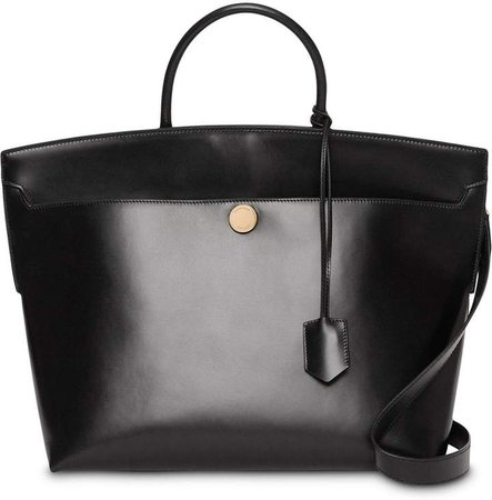 Leather Society Top Handle Bag