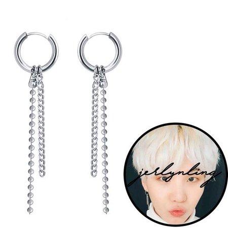 suga drop earrings