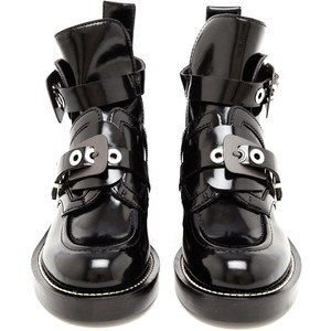 Black Boots With Buckles