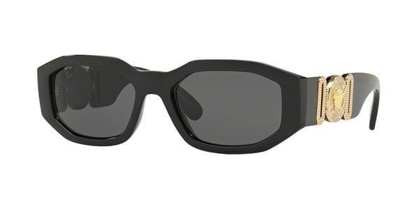 Versace VE4361 GB1/87 Sunglasses Black | VisionDirect Australia