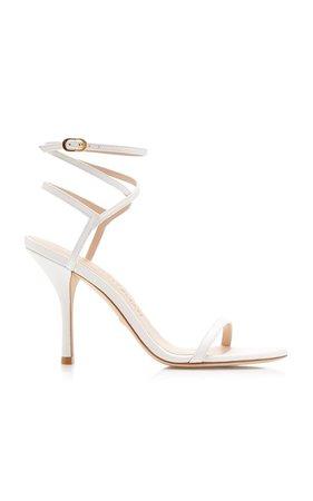 Merinda Leather Sandals by Stuart Weitzman   Moda Operandi