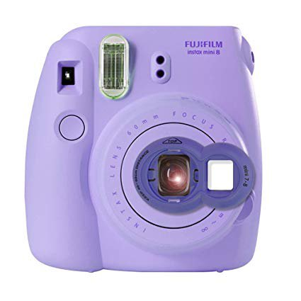 Amazon.com : Katia Selfie Lens for Polaroid Fujifilm Instax Mini 9 Film Instant Camera - Purple : Camera & Photo